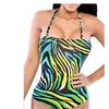 DPN Women's Padded Bathing Suits One Piece Swimsuit Swimwear Monokini