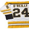 Terry O'Reilly Autographed Custom Jersey (MAB – TOREJER6)