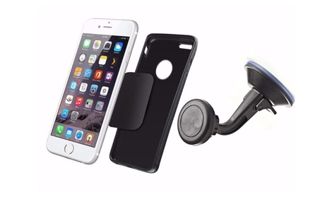 Universal Quick-Snap Magnet Car Mount Holder for iPhone Samsung 3fb4645f-667d-4aac-962f-be1393b540f0
