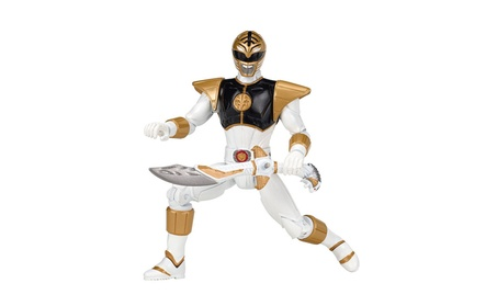 Power Rangers Legacy Mighty Morphin Movie 5-Inch White Ranger Action 30e02cac-4b7b-4ea5-bc0a-c12cf3460de5