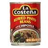 La Costena La Costena Refried Pinto Beans With Chipotle, 20.5 Z