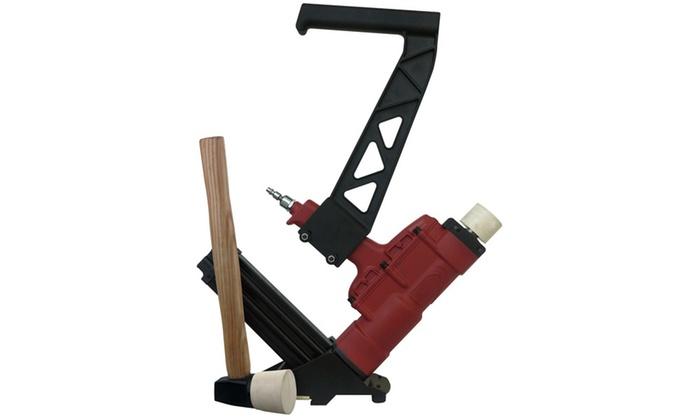 Professional Woodworker 2in1 Flooring Nailer/Stapler