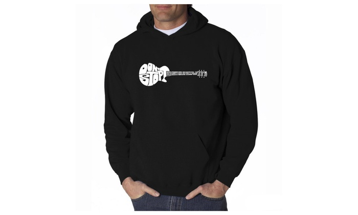 Men's Hooded SweaT-Shirt - Don't Stop Believin'