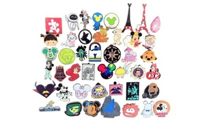 Disney Pin Trading 30 Assorted Pin Lot - Brand NEW Pins - No Doubles