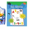 Tabletop Magnetic Easel & Whiteboard With 72 Letter Tote Bag