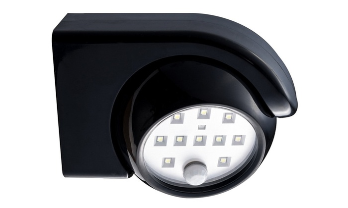 Hoont Bright LED Battery Powered Wall Light Motion Detection On/Off