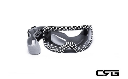 CRG Motocross ATV DIRT BIKE OFF ROAD RACING GOGGLES Adult T815-27-3