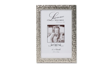 4x6 Silver Shimmer Metal Picture Frame 4a30142f-4eab-4928-ad8a-bc774d411ffd