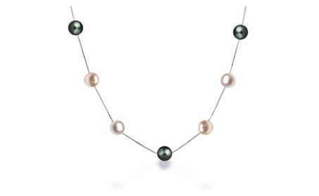 Bling Jewelry Sterling Silver MultiColor Freshwater Cultured Pearl Tin a0e6da0c-945c-4cd2-aa68-f47525b3fca6