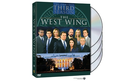 west wing the complete third season dvd groupon. Black Bedroom Furniture Sets. Home Design Ideas