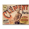 Clement Bicycles 1889 Canvas Print