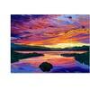 David Lloyd Glover Paint Brush Sky Canvas Print