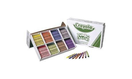Crayola Jumbo Crayon Classpack, 8 colors (box of 200) cc9535ea-9ec5-4559-adb2-0cc6ff22c182