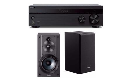 Sony STRDH190 2-ch Stereo Receiver w/ Phono Inputs & SSCS5 3-Way Kit 3304bdd6-100f-4060-99ec-a20d1b6e55fe