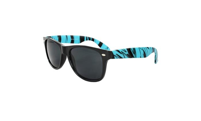 MLC EYEWEAR Retro Square Fashion Sunglasses Safari z8841BH