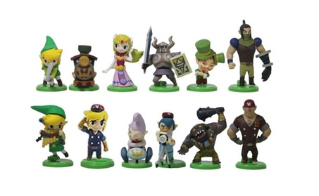 12 PCS The Legend of Zelda Action Figures Cake Topper Kids Toys d4a01253-0fb1-4fb9-9e34-4fba89a5f814