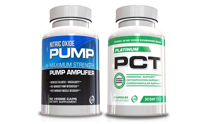 Buy It Now : Male Performance Kit Nitric Oxide & PCT Male Supplement