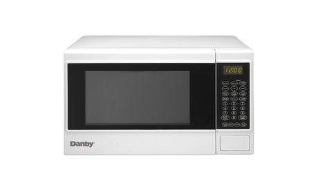 Danby 1100 Watts 1.4 cu. ft. 10 Power Countertop Microwave-White photo
