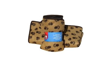 Pet Soft Sleeper Pad 3 In 1 Paw Print Orthopedic Double Sided Blanket 6fc1ae05-25b4-46e8-8865-2071c530836f