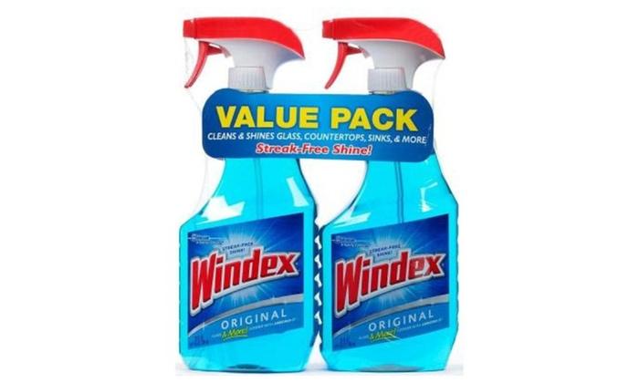 Windex Blue Twin pack 52FLOZ