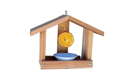 Stovall Products SP8F Stovall Wood Oriole Orange & Jelly Feeder (Goods For The Home Patio & Garden Bird Feeders & Food) photo