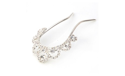 Hair Jewelry -- Crystal Combo Hairpin
