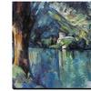 Cezanne: Annecy Lake, 1896 by Paul Cezanne