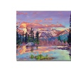 David Lloyd Glover Evening Serenity Canvas Print