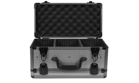 SportLock AlumaLock Double Sided Handgun Case Gray 41495f9d-e6c2-4d49-b44a-c41af1c979cd