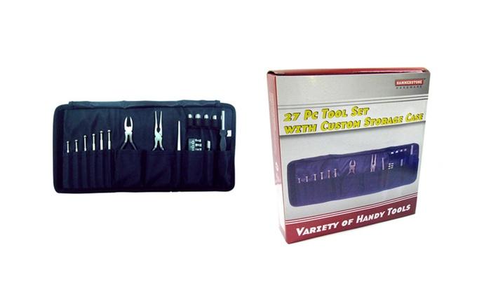 Buy It Now : 27 pc Tool Set with Custom Storage Case