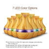 Ultrasonic Humidifier Wood Grain Aromatherapy Essential Oil Diffuser
