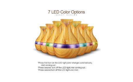 Ultrasonic Humidifier Wood Grain Aromatherapy Essential Oil Diffuser 8d8c68dd-f9ed-4e10-90f4-542bec691962
