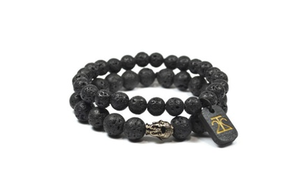 2 Pack Lava Rock Set