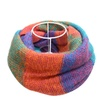 DPN Women's Classic Autumn 5 Colors 1 Sizes Cold Weather Scarves Wraps