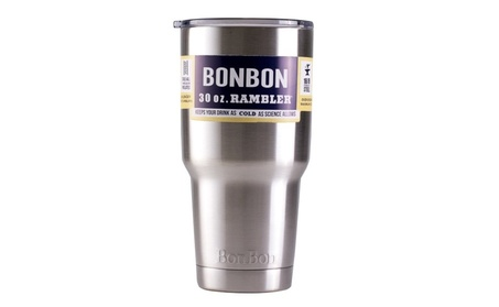 BonBon 30 oz Rambler Tumbler Stainless Steel Cup with Lid 93c13c85-5290-4270-9526-9a9592f2dee4