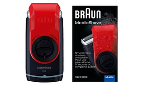 Braun M60 Mobile Washable Pocket Travel Shaver