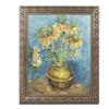 Van Gogh 'Crown Imperial Fritillaries' Ornate Framed Art