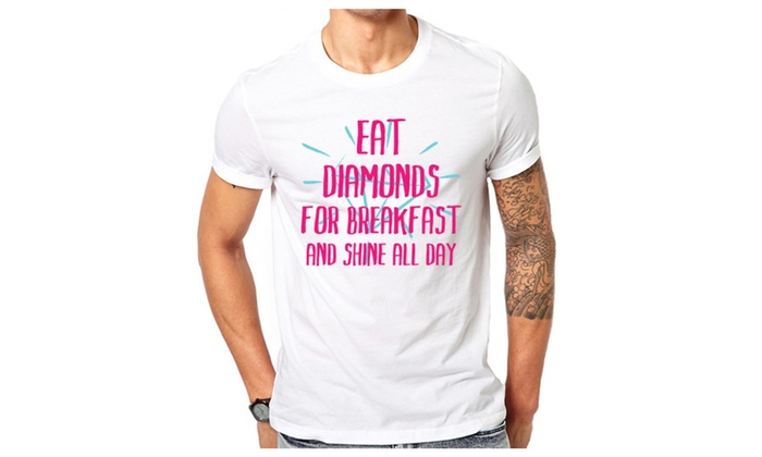 Eat Diamonds Funny T-Shirt