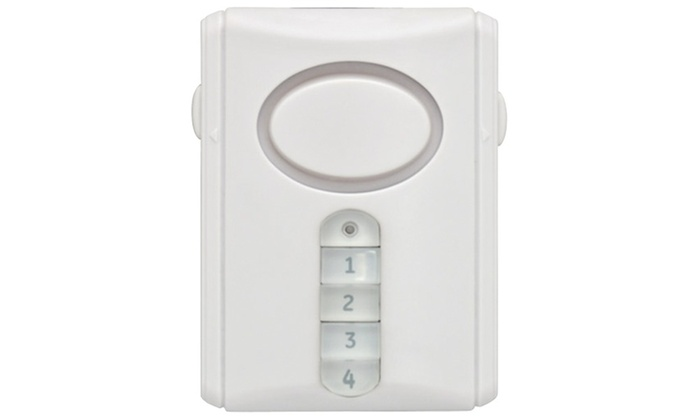 GE 45117 Wireless Alarm With Programmable Keypad