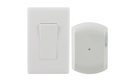 GE 18279 Wall-switch Light Control Remote With 1 Outlet Receiver photo