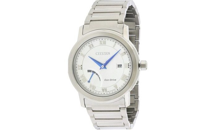 ... Citizen Eco-Drive Stainless Steel Mens Watch AW7020-51A a08518b87