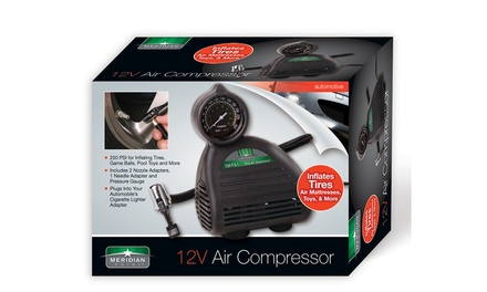 Meridian Point 12V Air Compressor Pump
