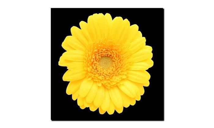Yellow Gerber Daisy\' Canvas Art   Groupon