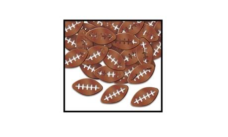 Beistle Party Decor Fanci-Fetti Footballs - 12 Pack (1 Oz/Pkg) d3af9fb3-8e94-4224-bc87-7cb1ba3dcea7