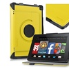 "Insten For Amazon Kindle Fire HD 7"" Leather Folio Smart FitCase Yellow"