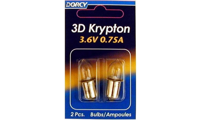 Bulb Krypton 3d 2-cd