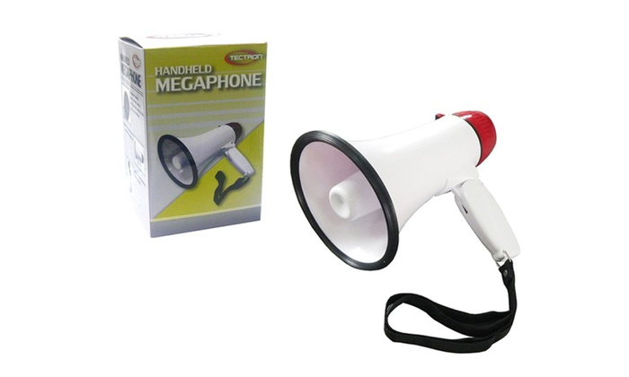 Buy It Now : Mini Megaphone for indoor and outdoor use