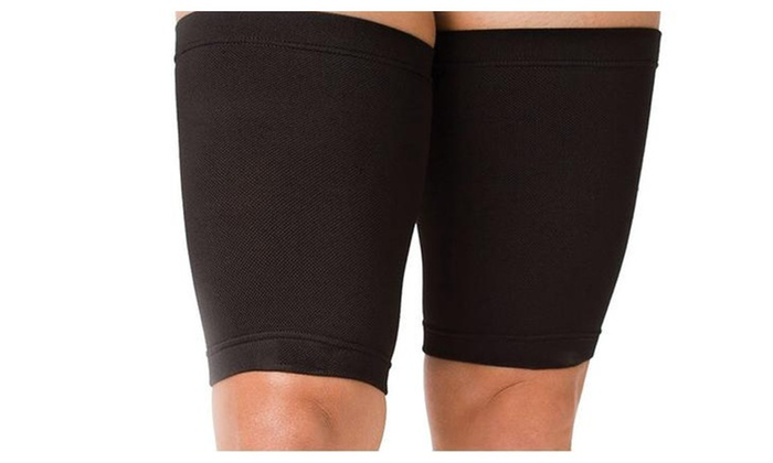 Cellulite Lifting Taping Thigh Massagers by Z-Comfort - Black