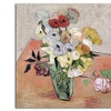 Vincent van Gogh 'Roses and Anemones, 1890' Canvas Rolled Art