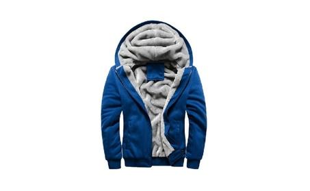 New Winter Velvet Hoodie Casual Men Jacket 97ba6031-e5bd-47f8-879d-d9a245534b2d